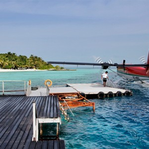 Nika Island Resort and Spa - Luxury Maldives Honeymoon Packages - jetty