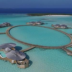Soneva Jani - Maldives Luxury Honeymoon packages - aerial view