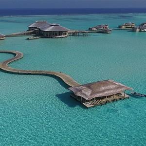 Soneva Jani - Maldives Luxury Honeymoon packages - arrival jetty