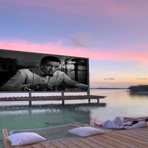 Soneva Jani - Maldives Luxury Honeymoon packages - cinema paradiso