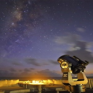 Soneva Jani - Maldives Luxury Honeymoon packages - observatory