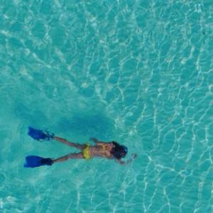 Soneva Jani - Maldives Luxury Honeymoon packages - snorkelling