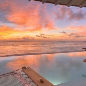 Soneva Jani - Maldives Luxury Honeymoon packages - sunset