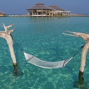 Soneva Jani - Maldives Luxury Honeymoon packages - water hammock