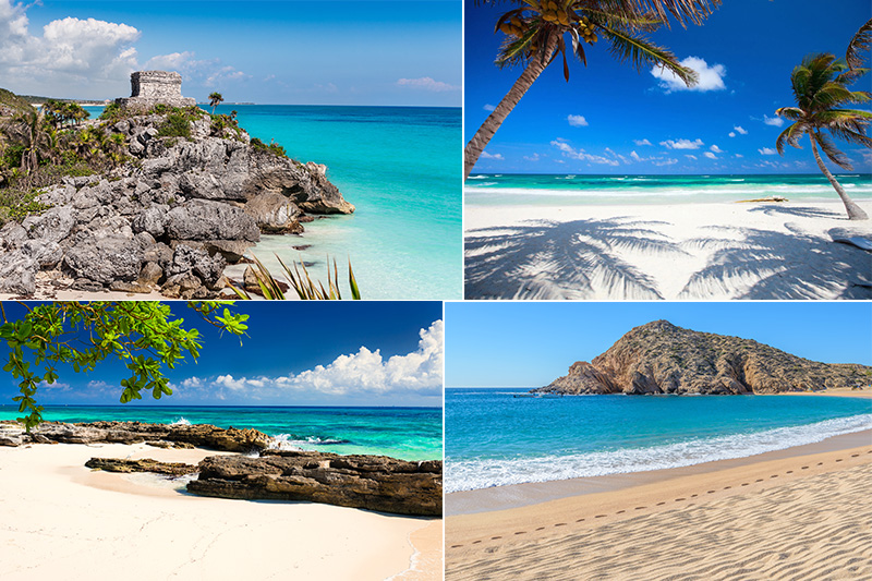 mexico caribbean beaches