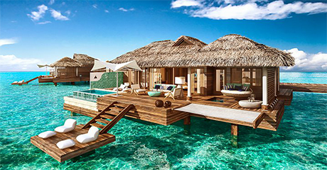 Honeymoon Style Over Water Villas Unveiled In Sandals