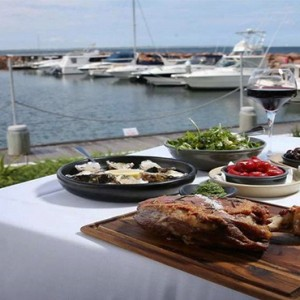 Anchorage Port Stephens - Luxury Australia Honeymoon packages - dining