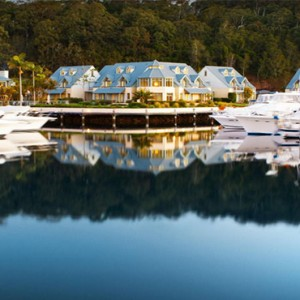 Anchorage Port Stephens - Luxury Australia Honeymoon packages - hotel front1