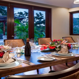 Capella Marigot Bay Resort and Spa - Luxury St Lucia honeymoon packages - Dining