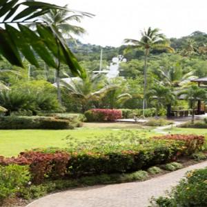 Capella Marigot Bay Resort and Spa - Luxury St Lucia honeymoon packages - Garden Pavillion