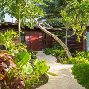 Capella Marigot Bay Resort and Spa - Luxury St Lucia honeymoon packages - Sauna cabana at spa village