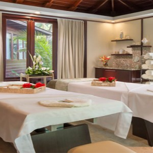 Capella Marigot Bay Resort and Spa - Luxury St Lucia honeymoon packages - Spa treatment room