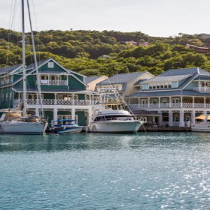 Capella Marigot Bay Resort and Spa - Luxury St Lucia honeymoon packages - Yachts berthed at capella marina
