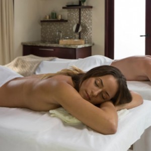 Capella Marigot Bay Resort and Spa - Luxury St Lucia honeymoon packages - couple spa