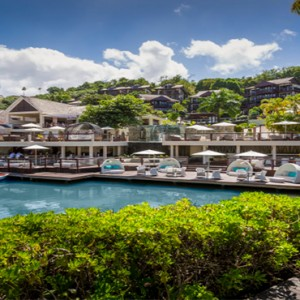 Capella Marigot Bay Resort and Spa - Luxury St Lucia honeymoon packages - exterior