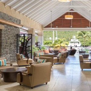 Capella Marigot Bay Resort and Spa - Luxury St Lucia honeymoon packages - lobby