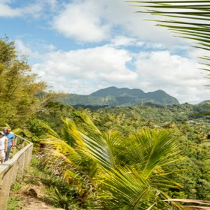 Capella Marigot Bay Resort and Spa - Luxury St Lucia honeymoon packages - mountain hiking