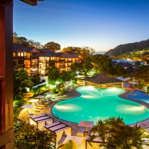 Capella Marigot Bay Resort and Spa - Luxury St Lucia honeymoon packages - pool1
