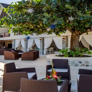 Capella Marigot Bay Resort and Spa - Luxury St Lucia honeymoon packages - restaurant exterior