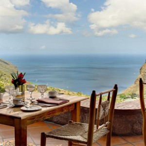 a view - Ladera St Lucia - Luxury St Lucia Honeymoon