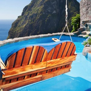 Hiltop Dream Suite pool - Ladera St Lucia - Luxury St lucia Honeymoon