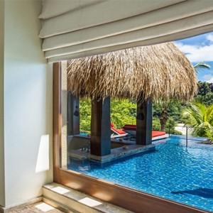 MAIA Luxury Resort and Spa - Luxury Seychelles Honeymoon Packages - Ocean Panoramic Villas pool