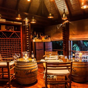 MAIA Luxury Resort and Spa - Luxury Seychelles Honeymoon Packages - Wine boutique