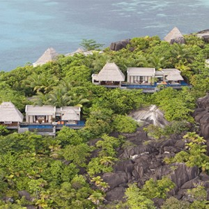 MAIA Luxury Resort and Spa - Luxury Seychelles Honeymoon Packages - aerial view