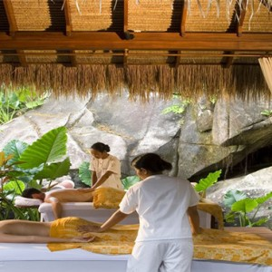 MAIA Luxury Resort and Spa - Luxury Seychelles Honeymoon Packages - couple spa