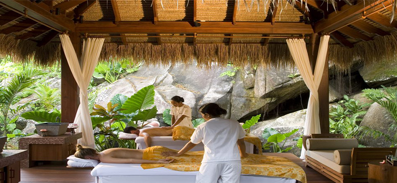 Maia luxury resort and spa luxury seychelles honeymoon for Spa vacation packages for couples