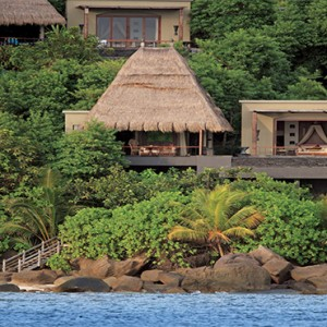 MAIA Luxury Resort and Spa - Luxury Seychelles Honeymoon Packages - view of villa