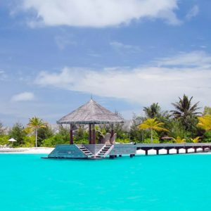 Maldives Honeymoon Packages Naladhu Private Island Maldives Arrival Jetty
