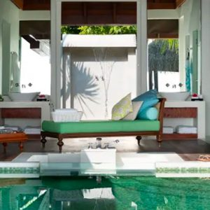 Maldives Honeymoon Packages Naladhu Private Island Maldives Beach House With Pool Pool