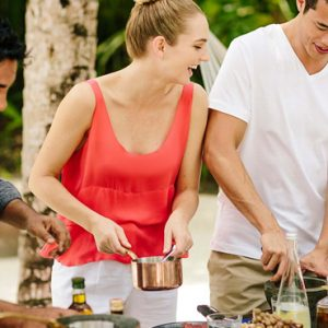 Maldives Honeymoon Packages Naladhu Private Island Maldives Cooking Class