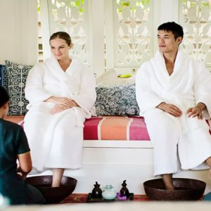 Maldives Honeymoon Packages Naladhu Private Island Maldives Couples Pedicure