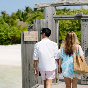 Maldives Honeymoon Packages Naladhu Private Island Maldives Jetty Entrance