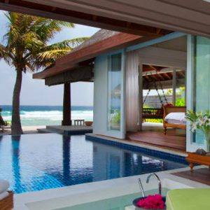 Maldives Honeymoon Packages Naladhu Private Island Maldives Ocean House With Pool Pool 2