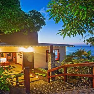 Ti Kaye Resort and Spa - Luxury St Lucia Honeymoon packages - Kai Koko Spa main entrance