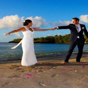 Ti Kaye Resort and Spa - Luxury St Lucia Honeymoon packages - Wedding