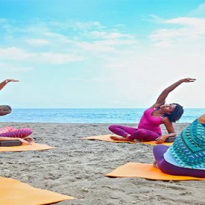 Ti Kaye Resort and Spa - Luxury St Lucia Honeymoon packages - Yoga
