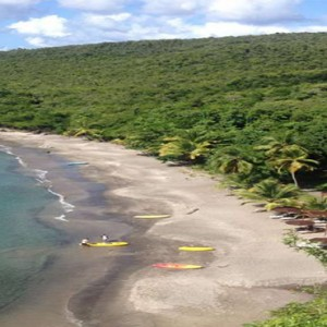 Ti Kaye Resort and Spa - Luxury St Lucia Honeymoon packages - beach
