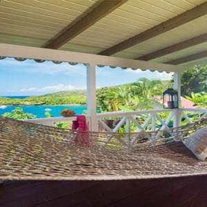 Ti Kaye Resort and Spa - Luxury St Lucia Honeymoon packages - hammock