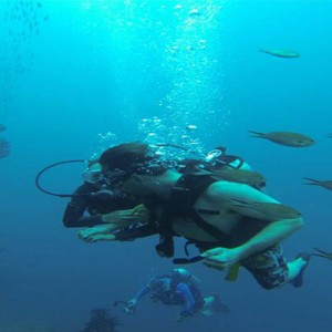 Ti Kaye Resort and Spa - Luxury St Lucia Honeymoon packages - scuba diving1