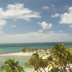 Windjammer Landing Villa Beach resort - Luxury Honeymoon St Lucia - aerial view