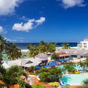 Windjammer Landing Villa Beach resort - Luxury Honeymoon St Lucia -aerial view2