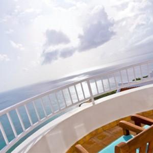 Windjammer Landing Villa Beach resort - Luxury Honeymoon St Lucia - balcony view