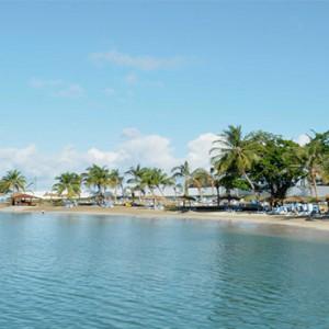 Windjammer Landing Villa Beach resort - Luxury Honeymoon St Lucia - beach