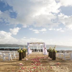 Windjammer Landing Villa Beach resort - Luxury Honeymoon St Lucia - beach wedding