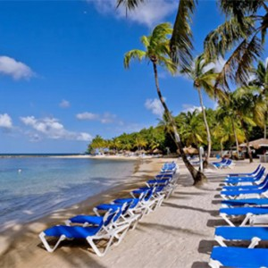 Windjammer Landing Villa Beach resort - Luxury Honeymoon St Lucia - beach1