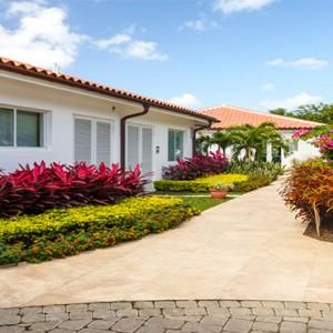 Windjammer Landing Villa Beach resort - Luxury Honeymoon St Lucia - entrance to fitness centre
